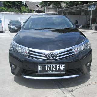2014 Altis V 1.8 AT Hitam Metalik