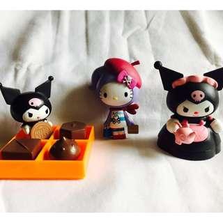 Hello Kitty & Kuromi Collectibles