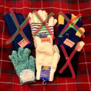 🈹️ 御寒手襪 手套 購自日本