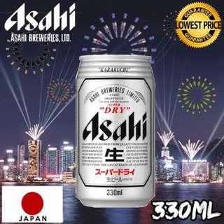 24罐日本Asahi朝日生啤酒330毫升