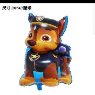 """Paw Patrol Chase 31"""" Foil Balloon"""