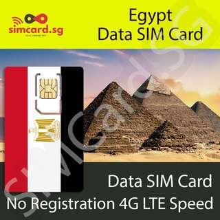 Egypt Data SIM Card