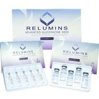 Relumins Advance Glutathione 3000mg With Buster