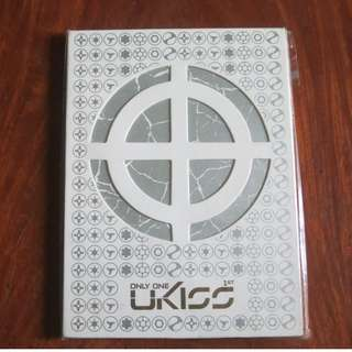 U-KISS first album ONLY ONE Ph version with poster