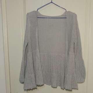 針織罩衫 外套 #女裝88