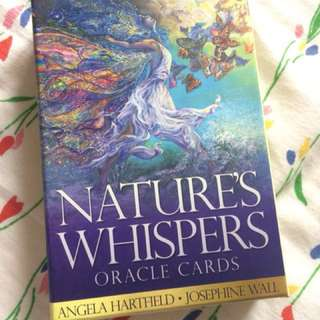 Oracle card: natures whispers