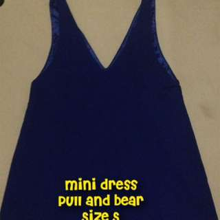 Mini dress pull n bear