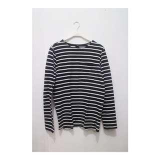 H&M Stripe Long Sleeves