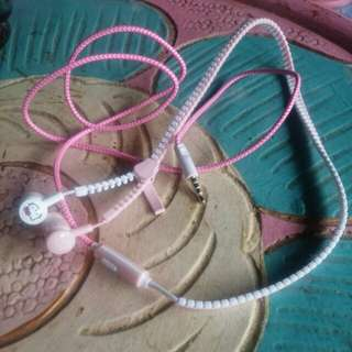 Handsfree / Headset Hellokitty Pink Unik Lucu