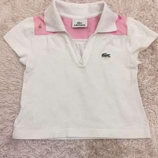 lacoste kids shirt