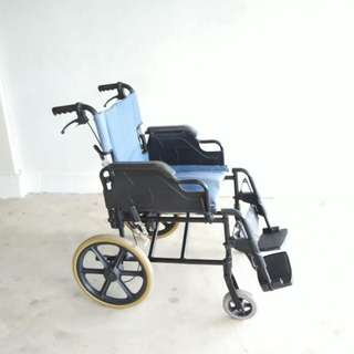 Wheelchair 14 solid wheels