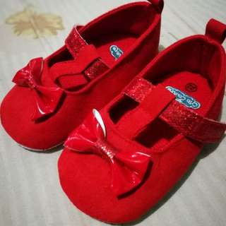 Crib Couture Red Shoes Size 22