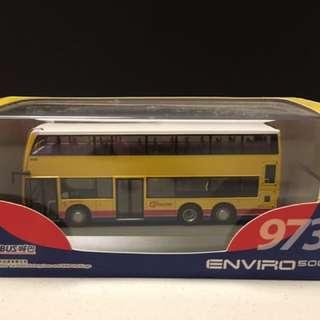 巴士模型 城巴 enviro 500 973