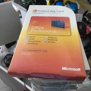 MSOFFICE 2010 professional BRAND NEW licence authentic -> 13 pieces available