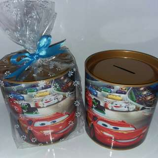 Customised Cars Theme 100mm Coin Bank