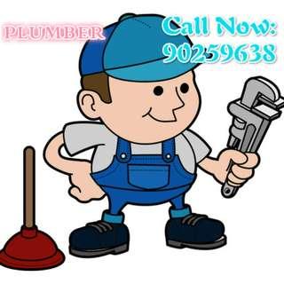 Plumber Services - tap, mixer, flushing