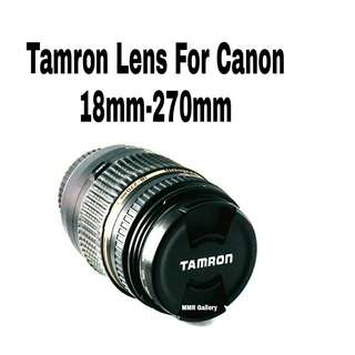 Tamron for Canon 18mm-270mm