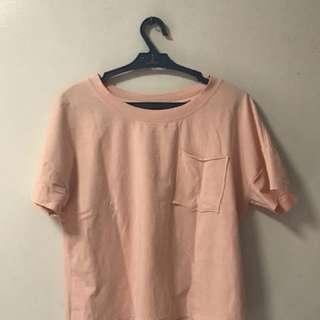 Pink Pocket Crop Top
