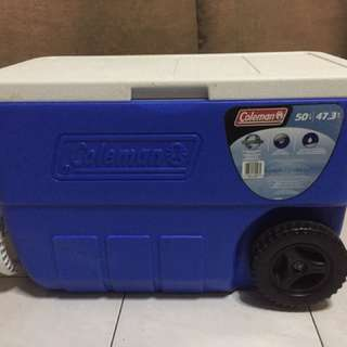 Coleman cooler box 50qts