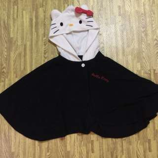 hello kitty kids poncho