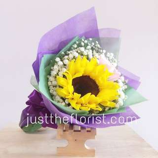 Sunflower Bouquet v day