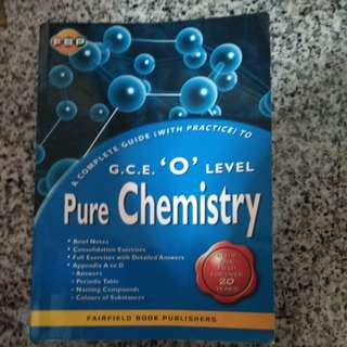 Gce o level pure chemistry assesment book