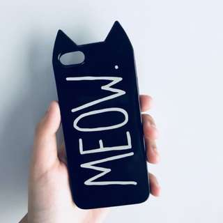 H&M MEOW JELLY CASE (iphone5/5s)