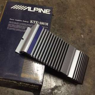 Alpine Amplifier Endcap