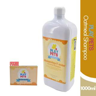 Play pets Oatmeal Shampoo and Conditioner 1000ml