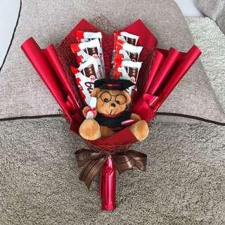 Graduation chocolate bouquet