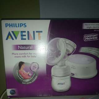 Philips avent natural breast pumo single electric