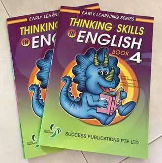 Pre Primary Thinking Skills English
