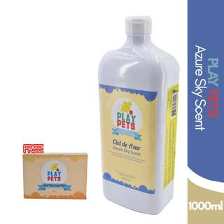 Play pets Azure sky scent Shampoo and Conditioner 1000ml