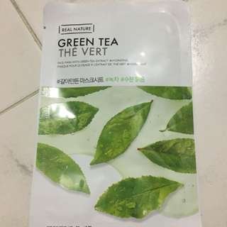 The Face Shop Mask- Green Tea