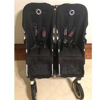 Twin Bugaboo Donkey Stroller