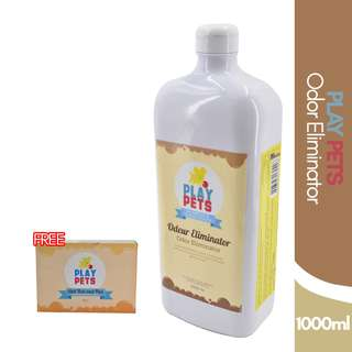 Play pets Odor Eliminator Shampoo and Conditioner 1000