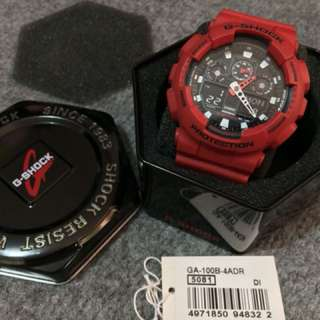 Authentic G-Shock Coke Red