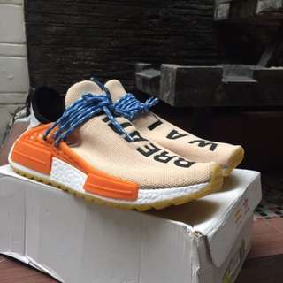 adidas pharrell william human race breathe walk pale nude