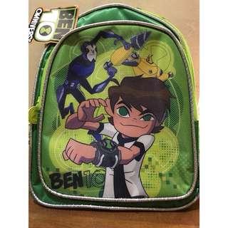 Ben 10 kiddie backpack