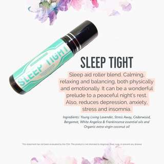 Sleep Essential oil roller blend 10ml using Young Living