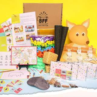 Edu-fun Bag For Fun (3 Boxes): BOND & LEARN WITH YOUR CHILDREN