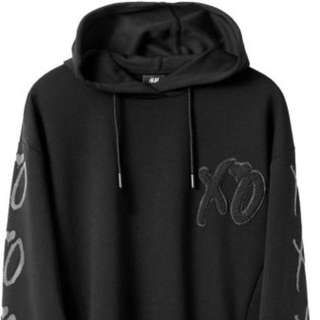 The Weeknd XO embroided hoodie