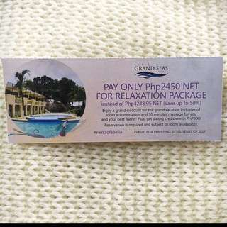 💕50% OFF SUBIC GRAND SEAS RESORT