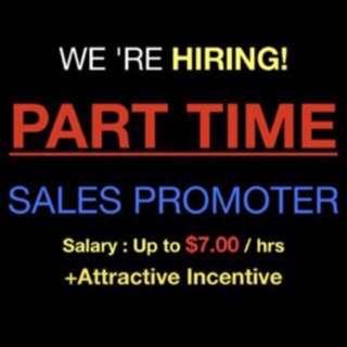 Hiring Sales Promoter