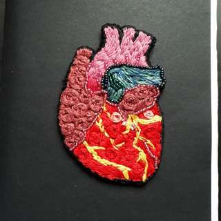 Unique heart patch