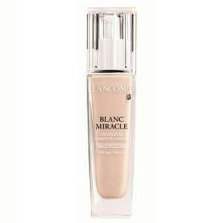 Lancome Foundation Blanc Miracle SPF50