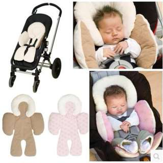 JJ Cole Baby Head & Body Support Pillow for Car Seat & Stroller