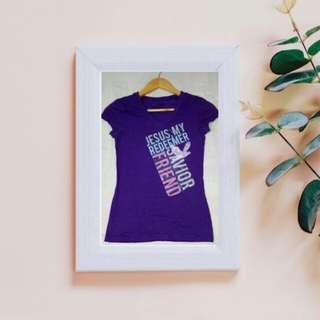Statement Shirt: My Jesus, Redeemer, Savior, and Fruend