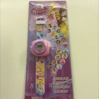 Birthday Party Gifts: Princess Projector Watch