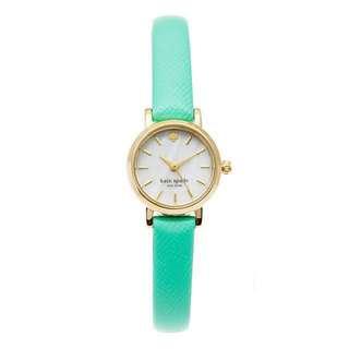 Kate Spade Tiny Metro Mint Green Watch